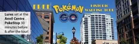 Pokémon Historic Walking Tour   City of New Westminster