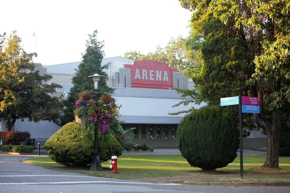 Queens Park Arena Access Is By First Street Third Avenue