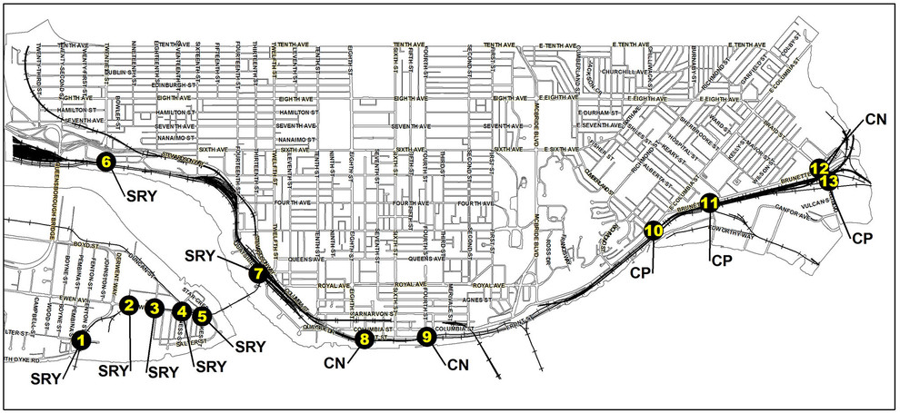 Train Whistle Cessation | City of New Westminster